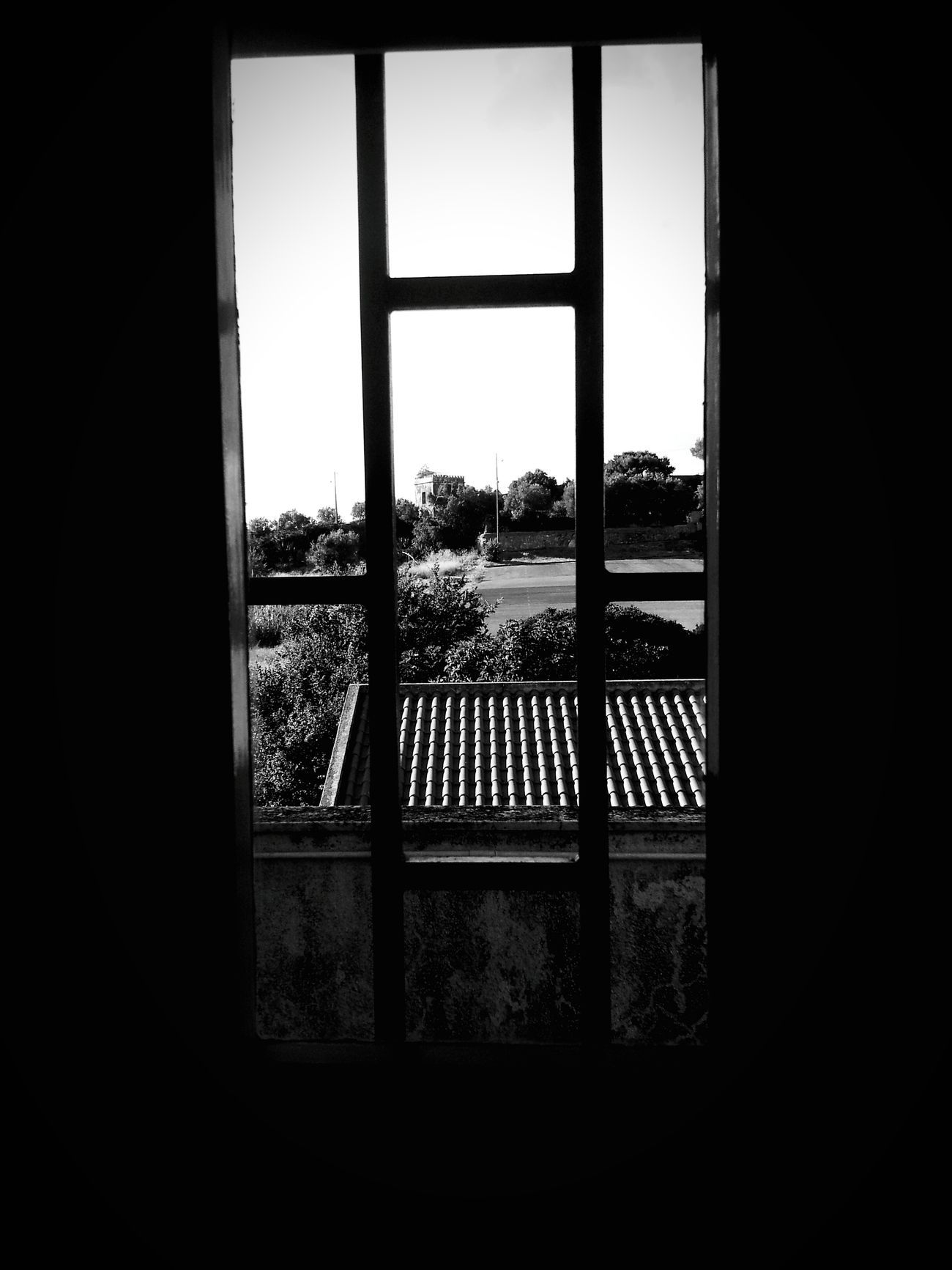 behind bars Blackandwhite EyeEm The Sky Gone Out