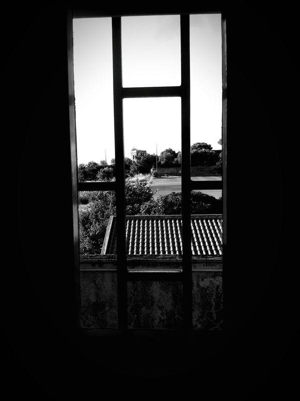 behind bars Blackandwhite EyeEm The Sky Gone Out
