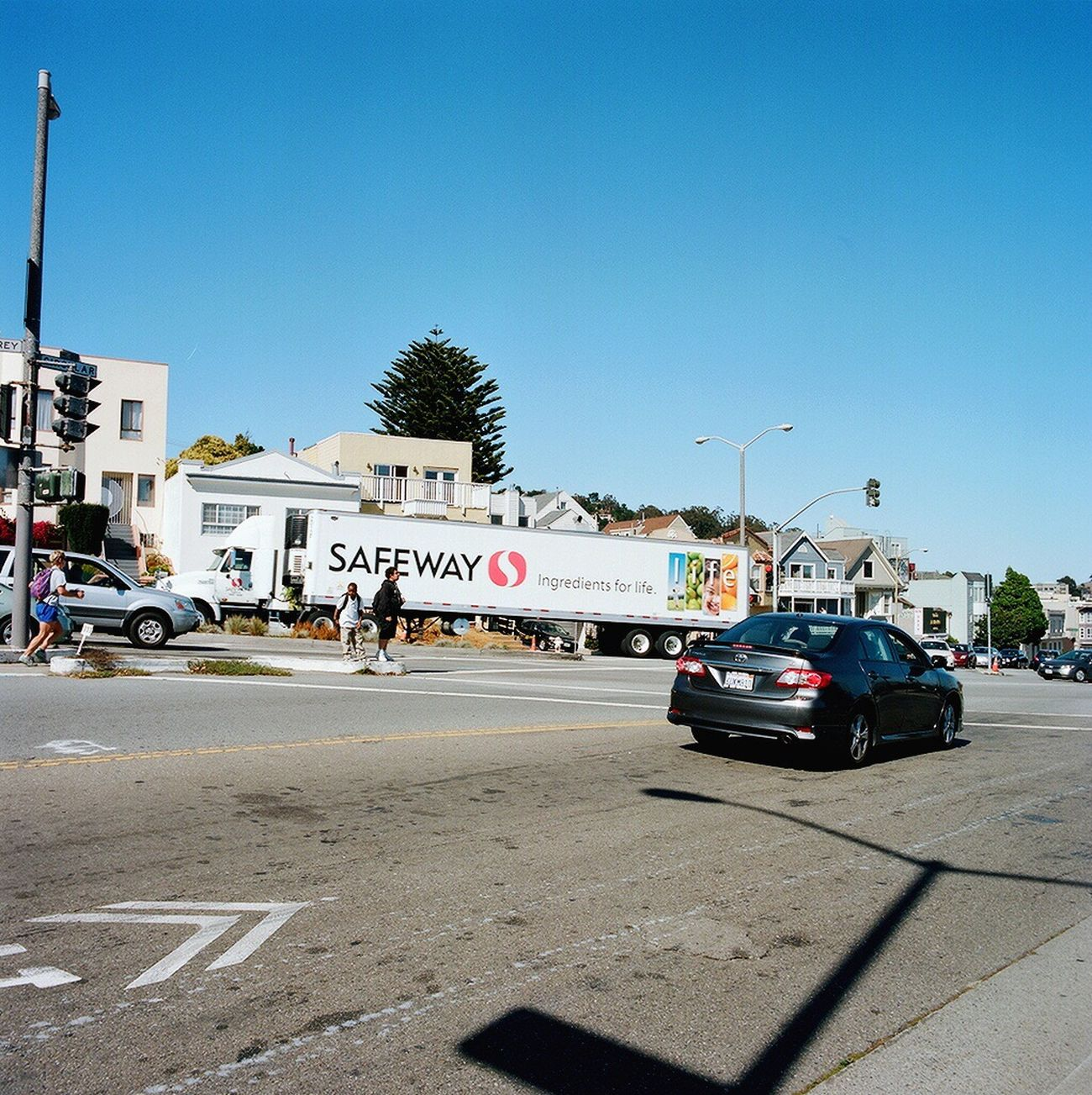 Clear Sky Car Land Vehicle Koduckgirl Hasselblad Real Film Glen Park
