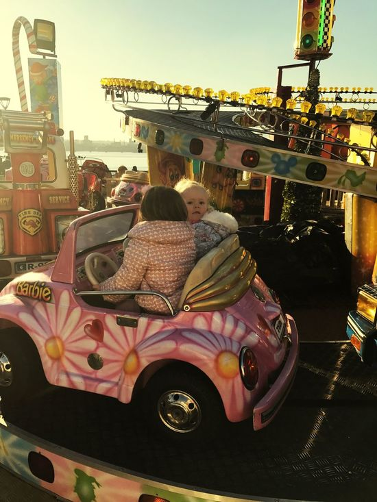 Enjoy The New Normal Daughter Fairground l Liverpool