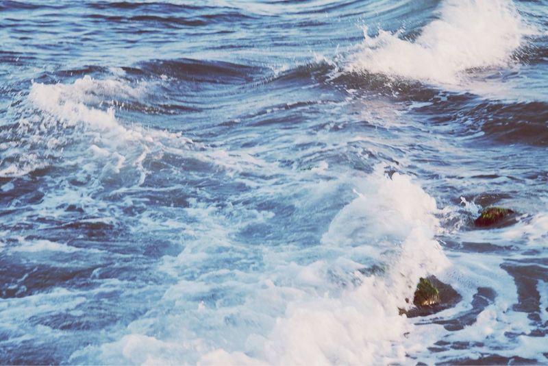 That lighthouse Sea Waves Homesick