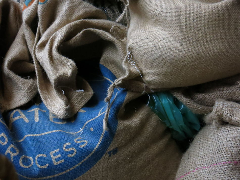 Coffee Coffee Sack Color Colors Fabric Form Forms Kaffee Sack Koffee Part Of Sack Selective Focus Strukture Textile Texture