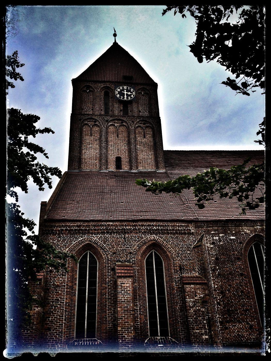 Marienkirche Grimmen Grimmen Kirche Backsteingotik Church