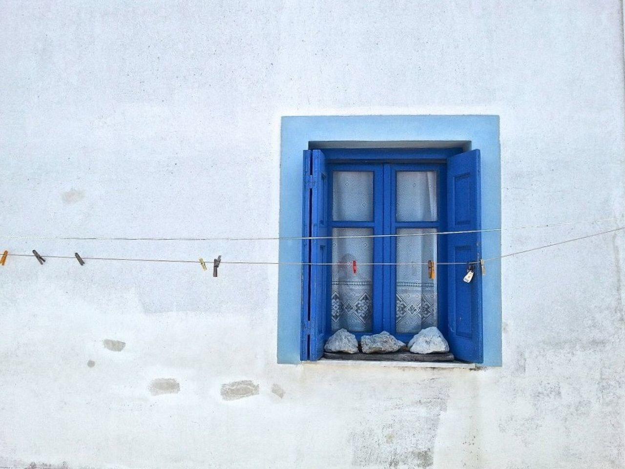 Greece Holiday Window