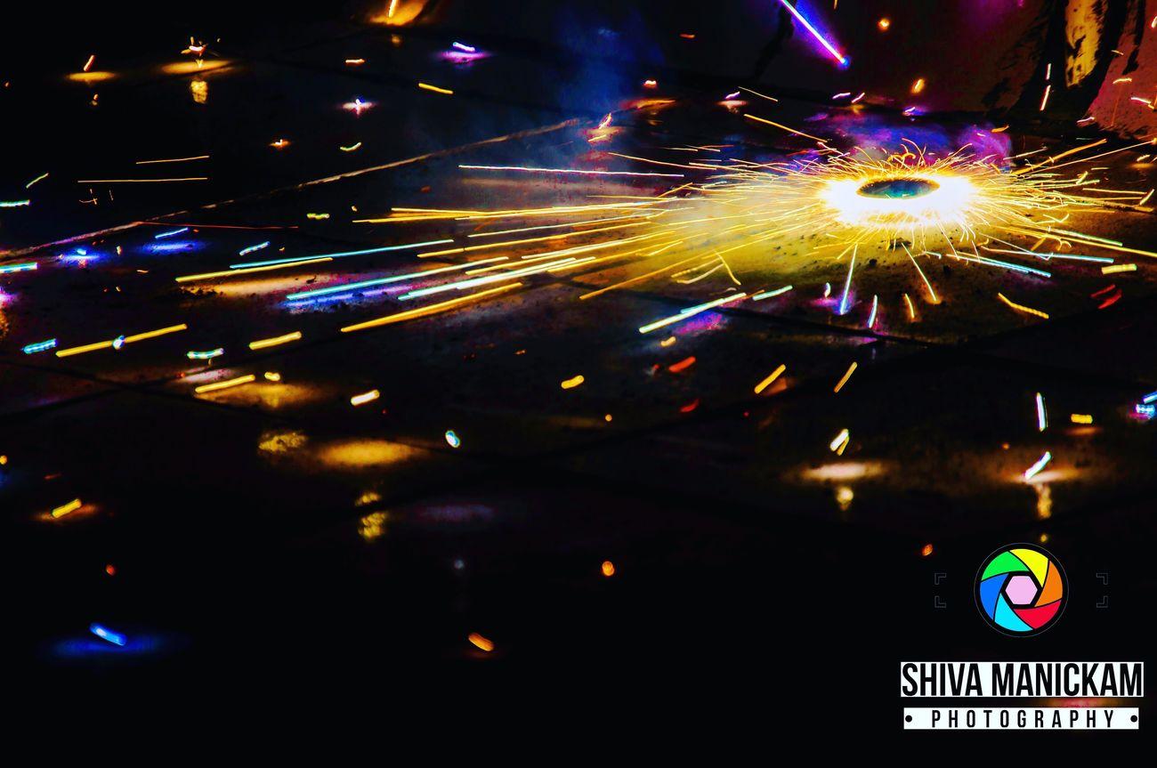 EyeEmNewHere Beingindian Diwali Lights Diwalicelebrations Night Illuminated Sparks Outdoors Firework Display No People