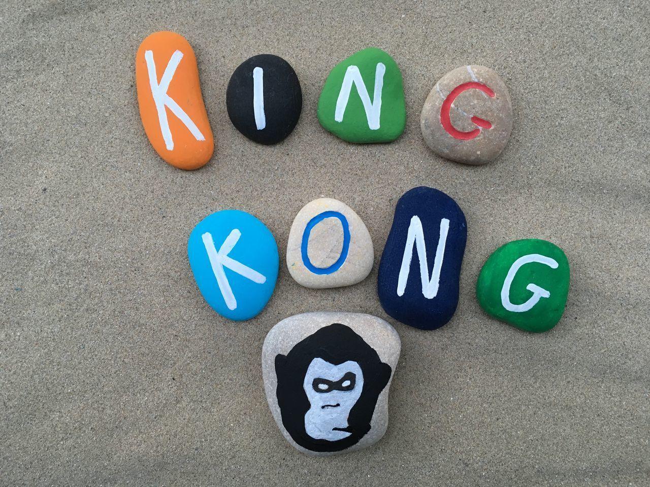 King Kong concept King Kong Idea Concept Stones Stone Art Art Artistic Symbol HERO Childhood