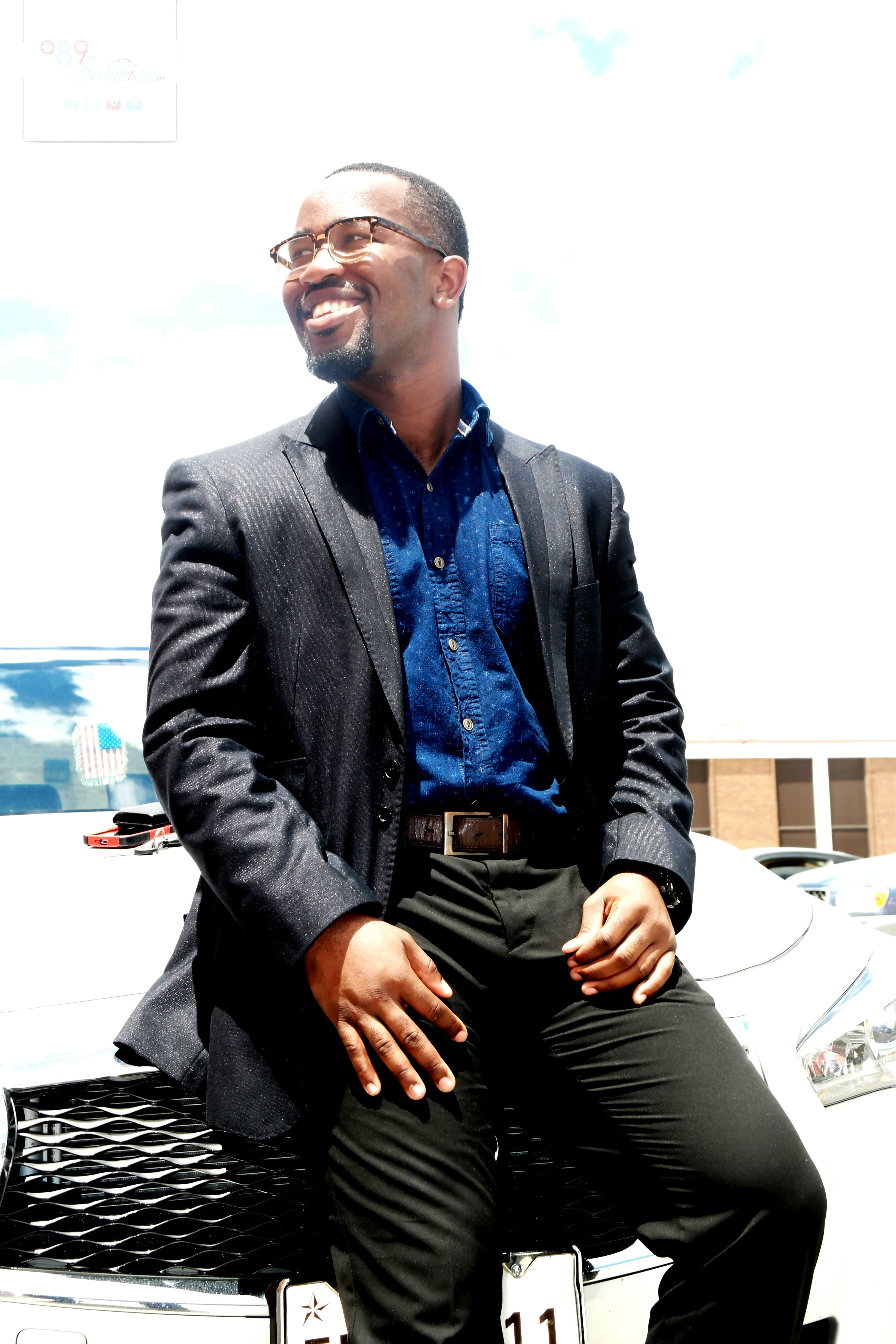 Handsome African Man With Goals Blackman Squad GQ Gentleman