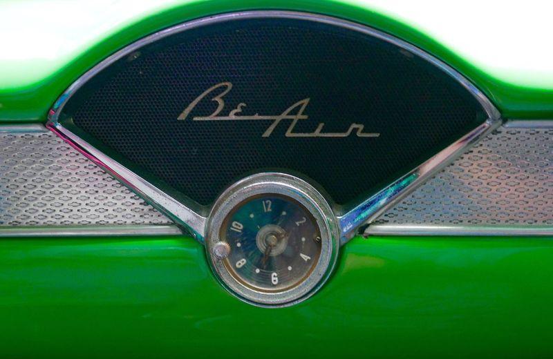 Classic Car Cuba Bel-air CHEVROLET BEL AIR Chevy Dashboard
