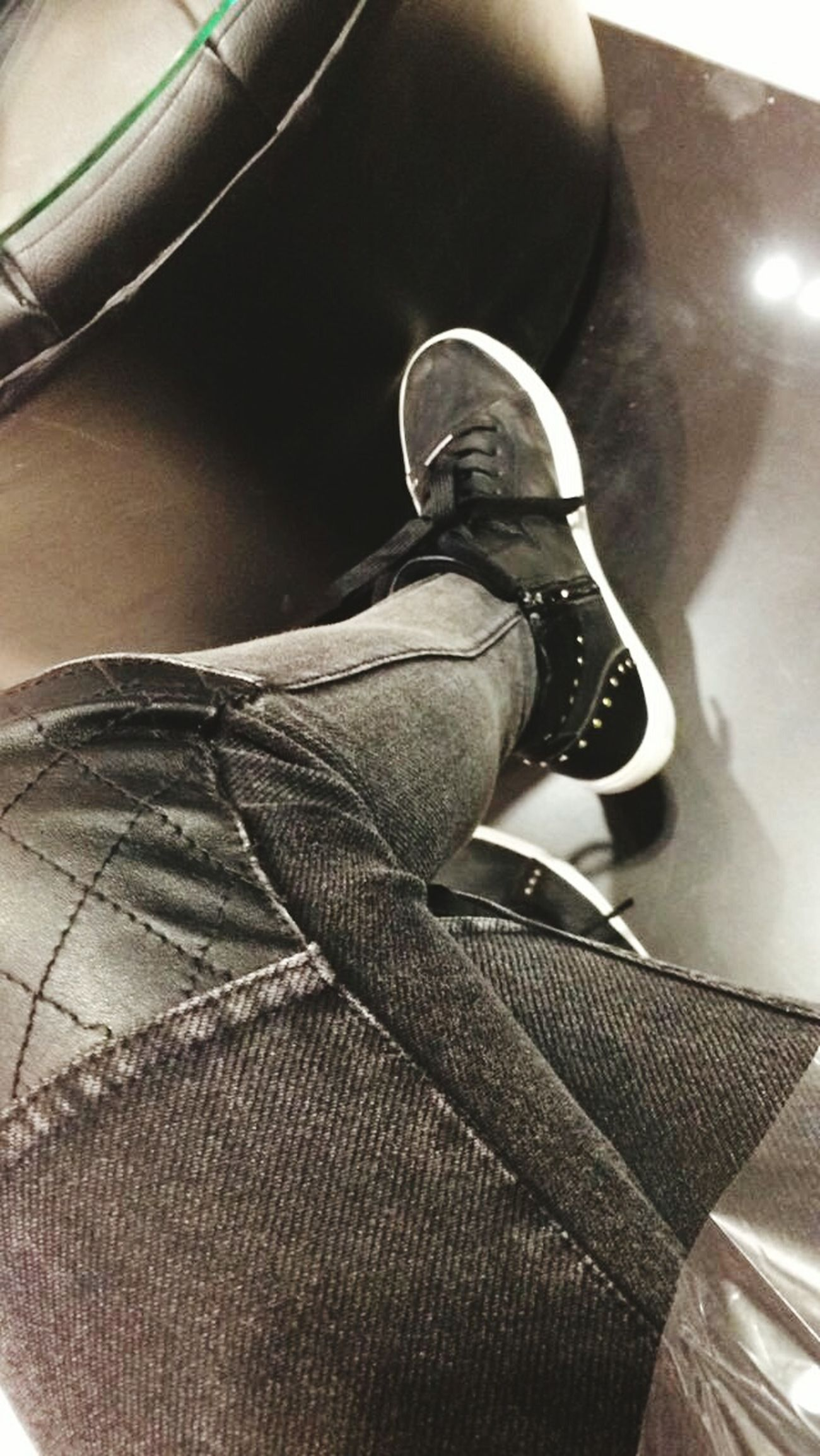 Blackandwhite Black & White Black And White Legs Black Jeans Black Shoe Stears Blackandwhite Photography Black White Grey Grey Jeans
