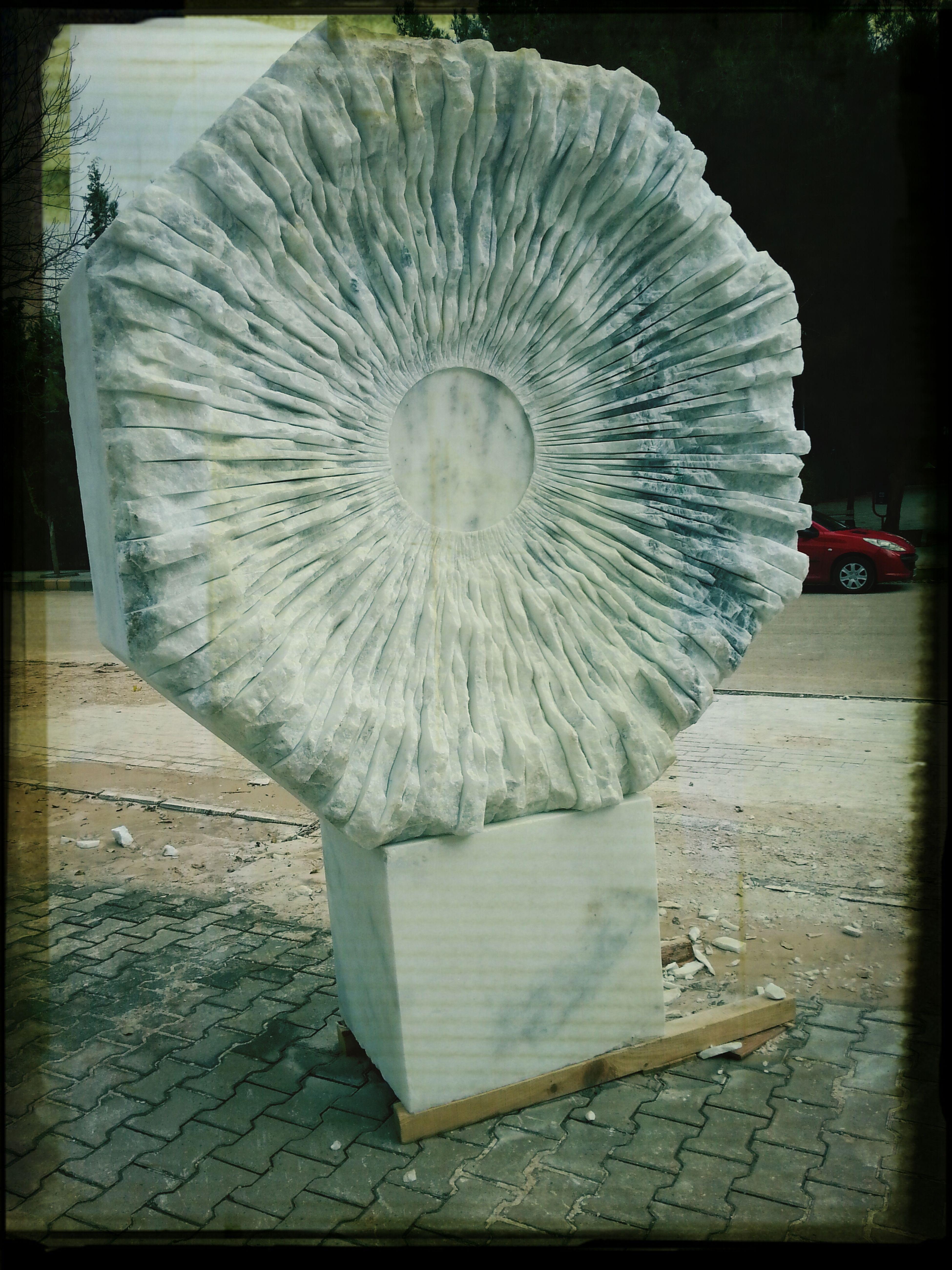 Gaziantep Üniversitesi Heykel Mermertas Sanat