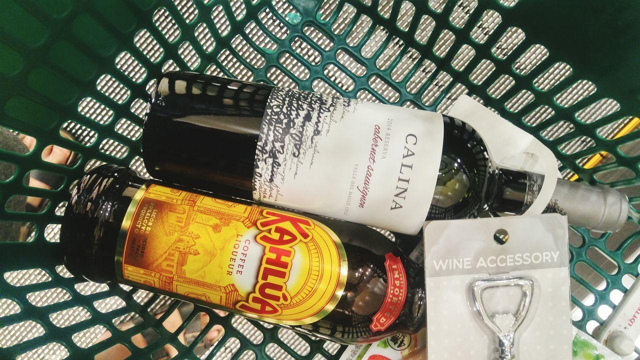 Wine Kahlua DRUNKEN NIGHTS