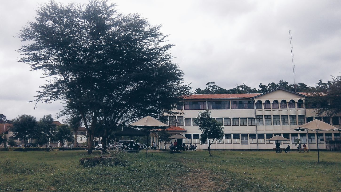 Communication block at the Multimedia University of Kenya. This block houses the radio and television studios for Mass Communication and Journalism students. Storitellah