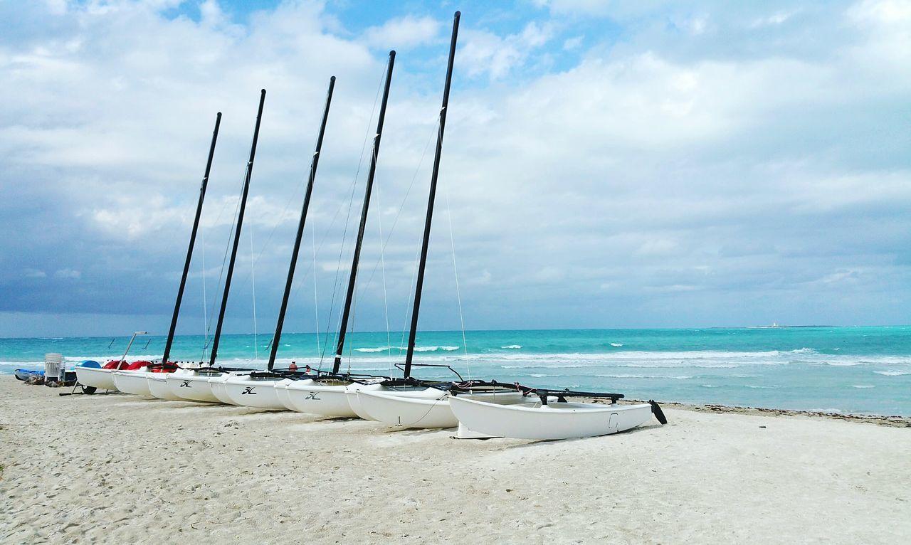 Beautiful stock photos of cuba, Beach, Beauty In Nature, Boat, Cloud - Sky