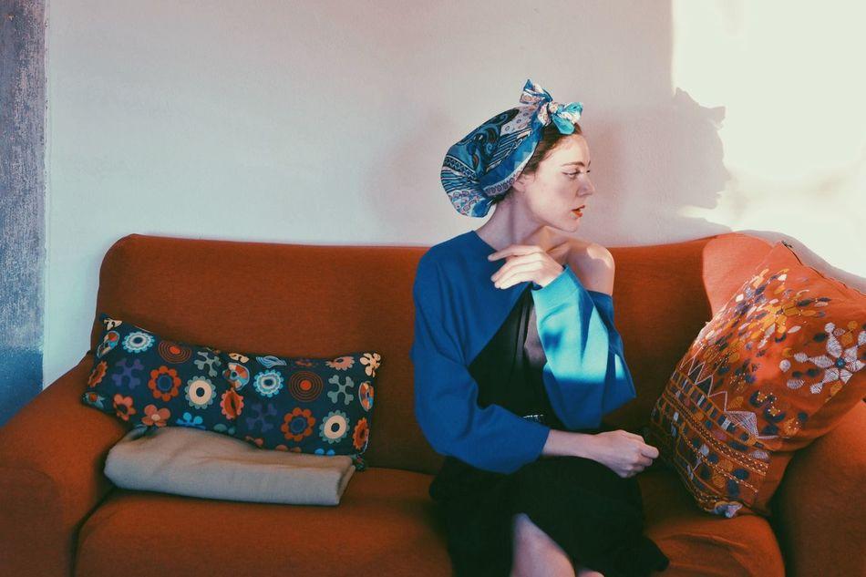 Beautiful stock photos of living room, 30-34 Years, Beautiful Woman, Beauty, Caucasian Ethnicity
