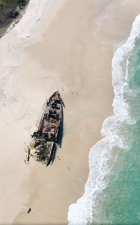 Water Beach Nature Sand Sea Day Outdoors High Angle View No People Beauty In Nature Scenics Animal Themes Close-up Fraser Island Maheno Shipwreck The Week On EyeEm