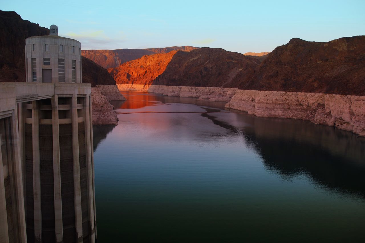 Beautiful stock photos of phoenix, Alternative Energy, Colorado River, Dam, Dusk