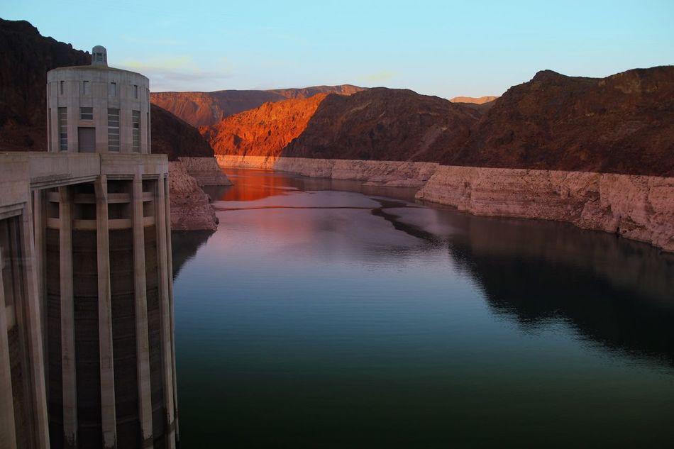 Beautiful stock photos of phoenix, Alternative Energy, Colorado River, Dam, Dusk