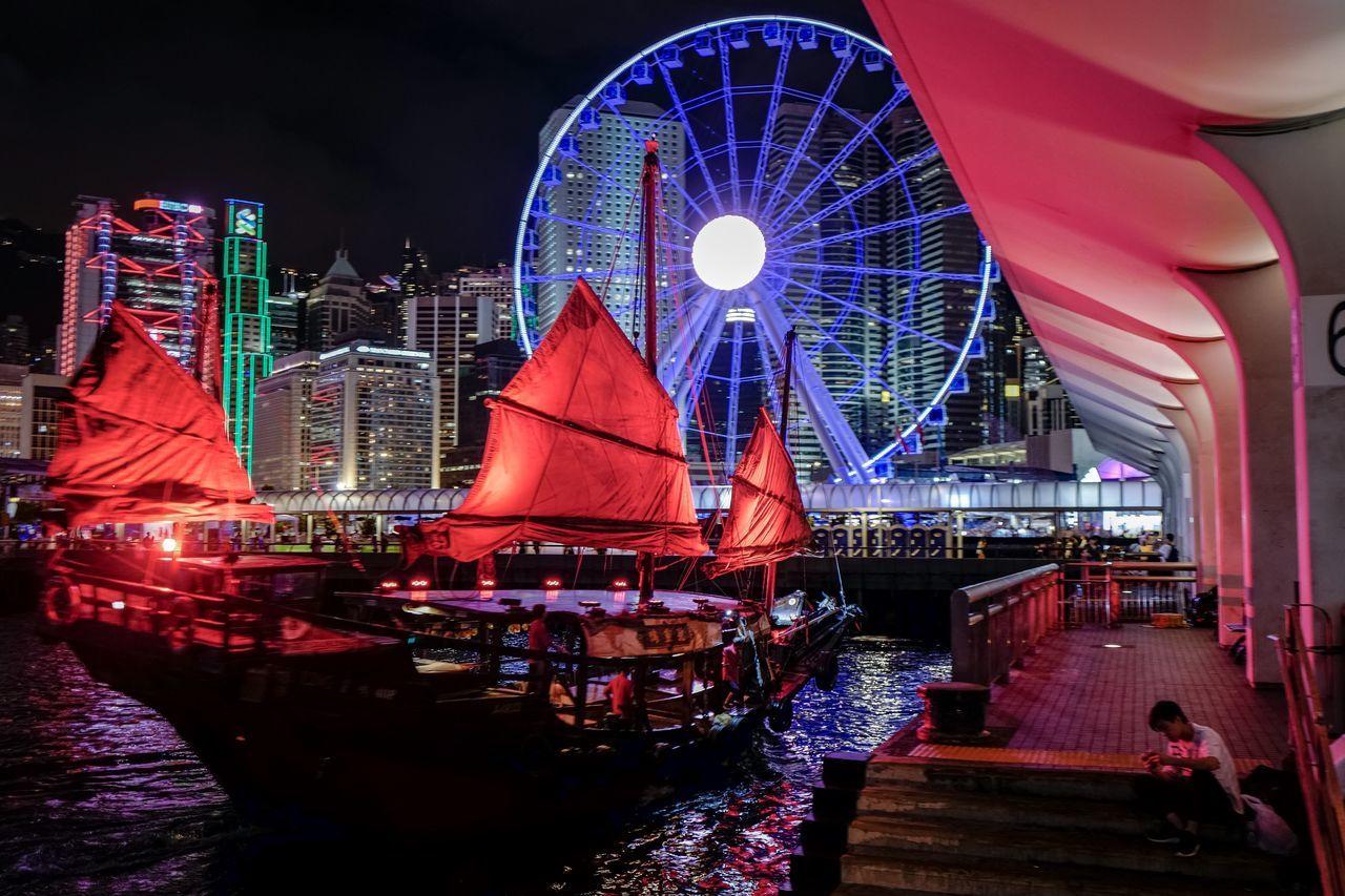 cruise ship at central EyeEmNewHere EyeEm Selects