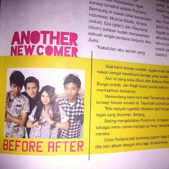 Band Beforeafter HaiMagazine Yeah kita nongol lagi??
