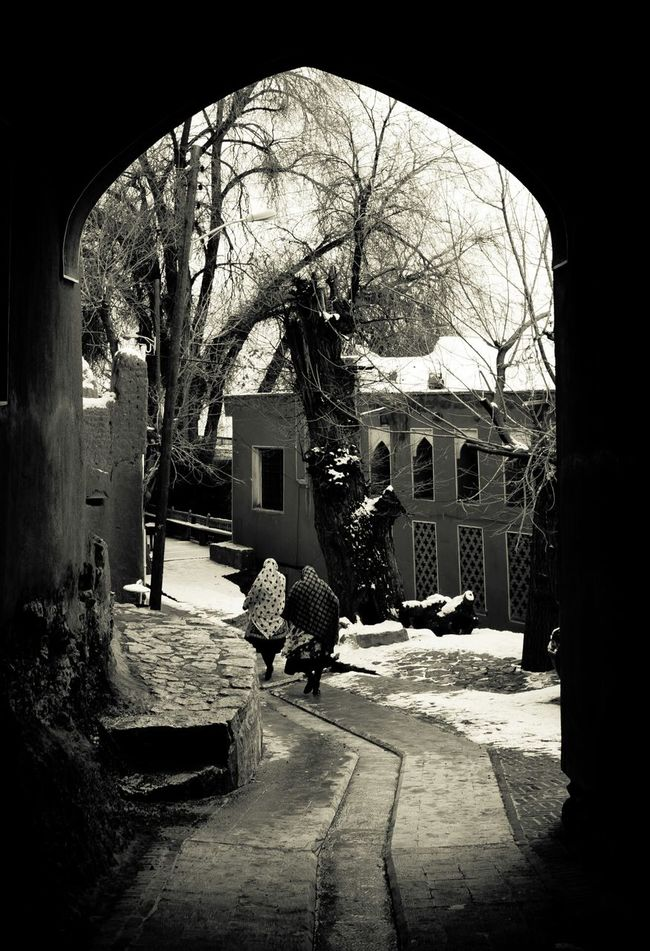 Good ol days... Blackandwhite Winter Historical Site Architecture