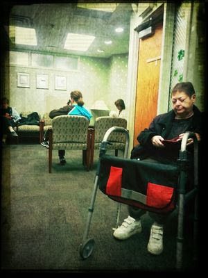 Waiting at Barnes West Medical Group by Onkel Art