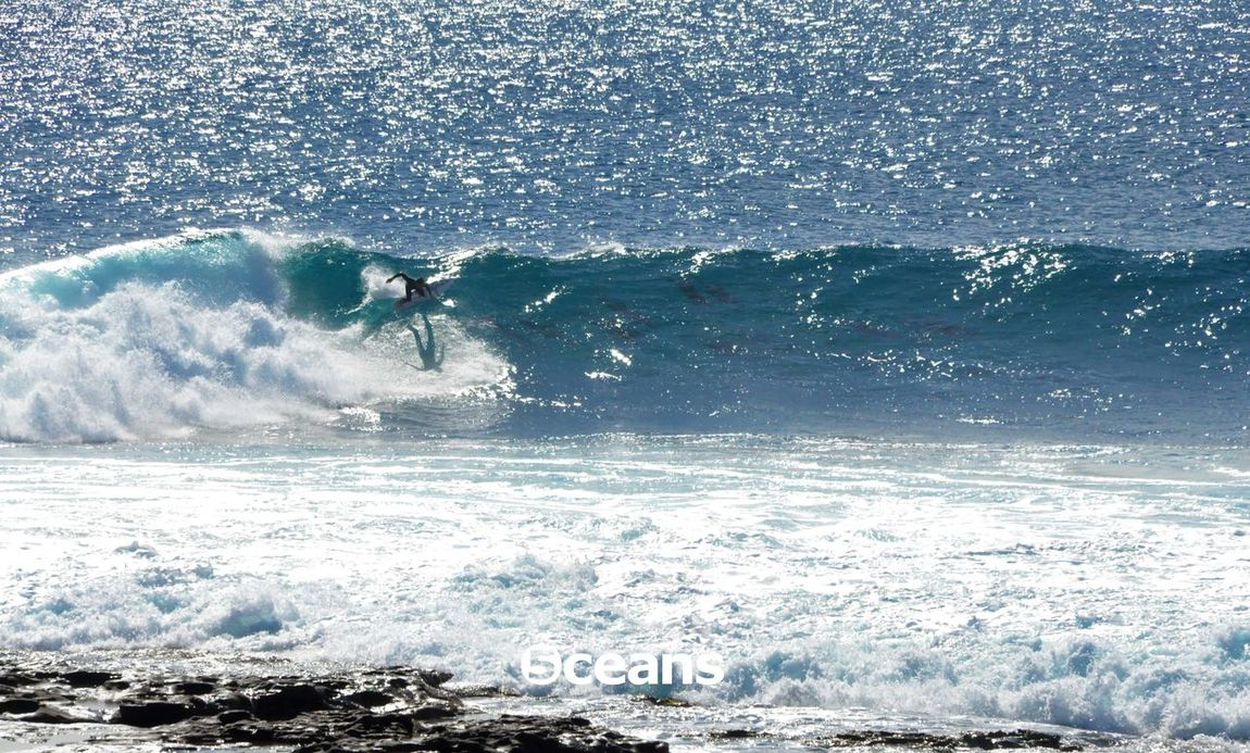 For our social media: using images to spread values and raise awareness FiveOceans EcoFin Ocean Surfing WondersOfNature