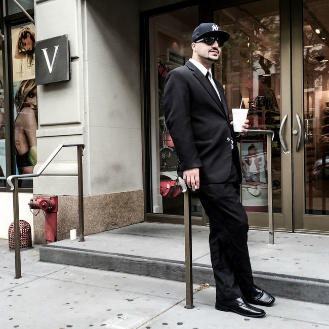Mr. V | #UWS #Manhattan #nyc #Spring2015 #streetphotography #Wednesday #people #timyoungiphoneography