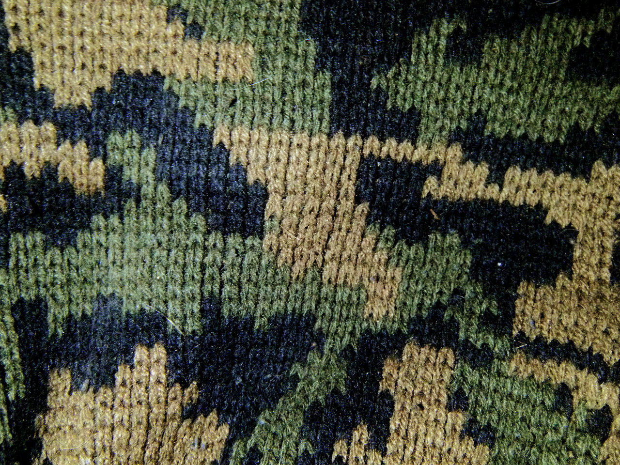 Pattern Pieces Camo Camouflage Pattern Knit Weave Beanie Blending In  Drab Patterns & Textures Military Surplus Fashion Style Whatever