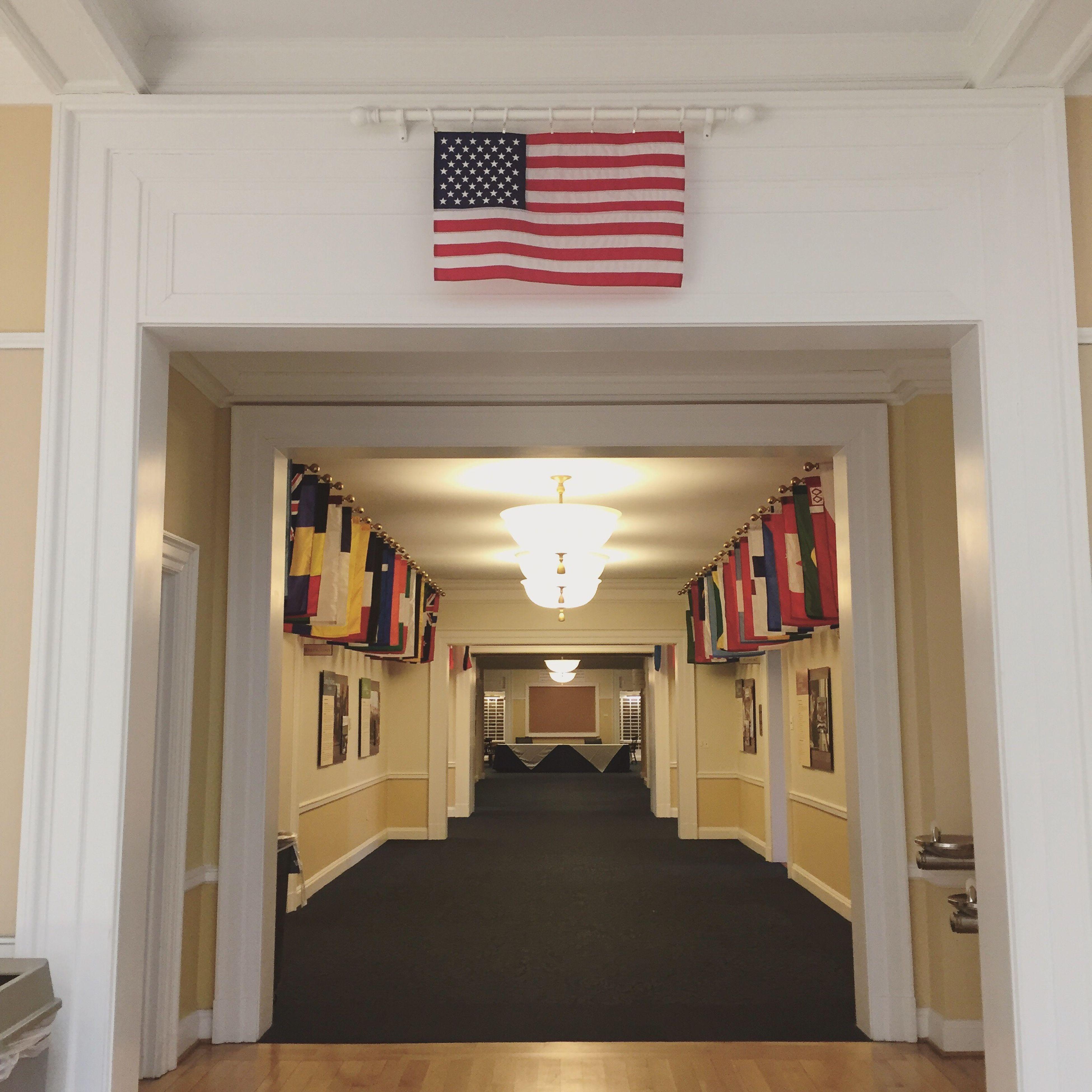 patriotism, indoors, flag, architecture, celebration, no people, day