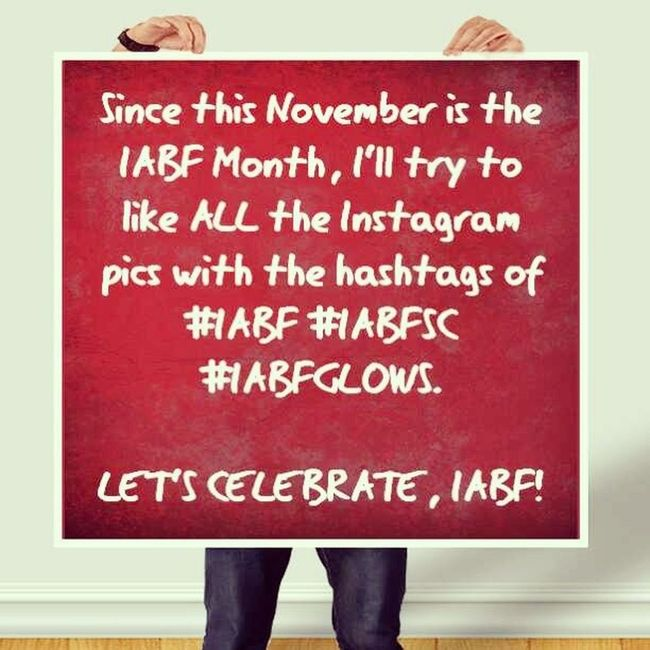 Let's celebrate, IABF! IABF IABFGLOWS IABFSC @IABFSC Excited Glows Celebration