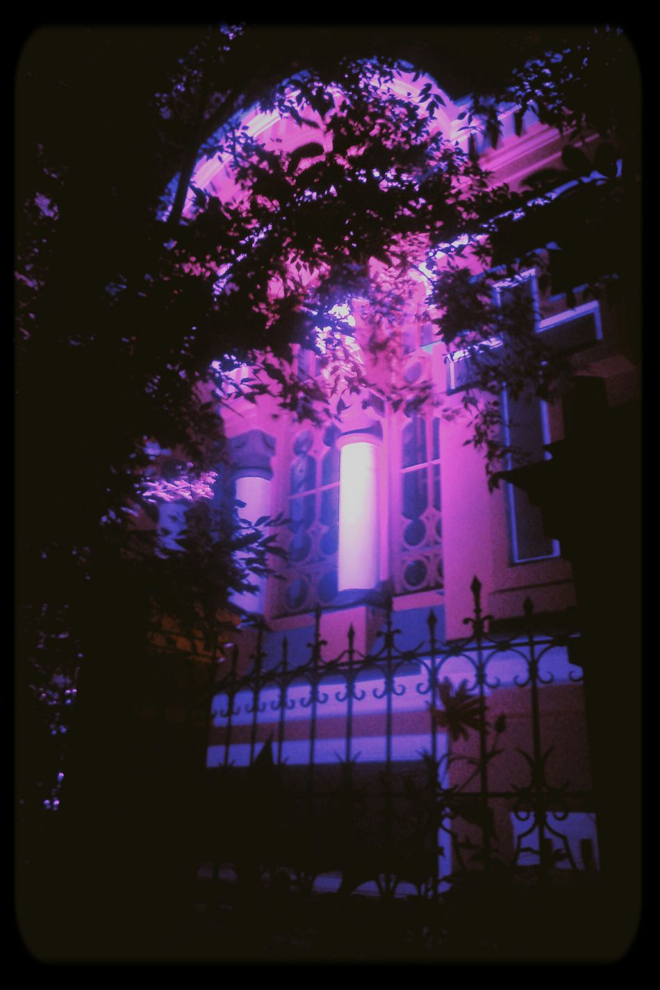Church Nightphotography Light Street