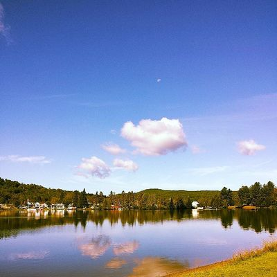 Joe's Pond, Danville Vermont. Ignewengland Vermontbyvermonters Vermont Vermontphotography igvermont summerday cloudporn