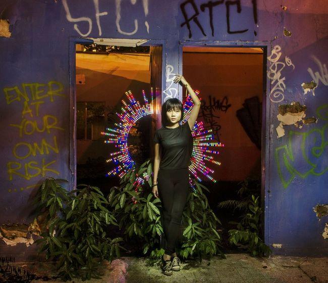 Enter at your own risk - Ninja Modelling with nikkin @ Abandoned restaurant