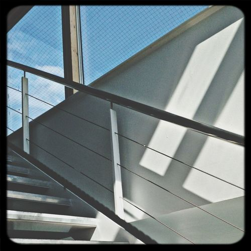 On-Location Taking Photos Abstract Stairs