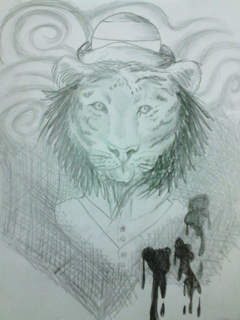 Draw Leon People Alucination