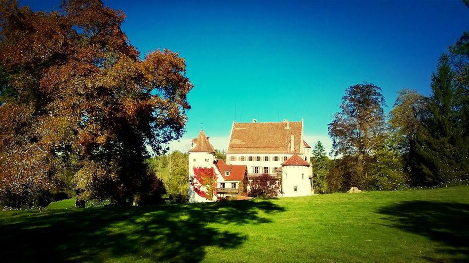 Schloss Syrgenstein Beautiful Day Lovely Weather Taking Photos