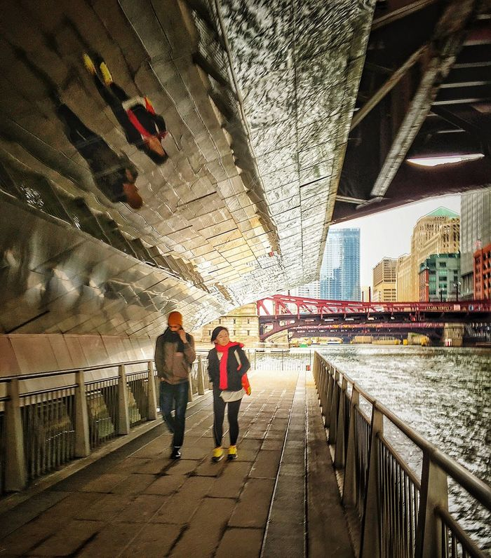 Chicago Under the River Walk Chicago River Reflections From Above Reflections River Afterwork Down Time... Chicago Skyline Chicago Architecture Pictureoftheday Picftheday EyeEm Best Shots EyeEmPortraits EyeEm Gallery Eyeem Urban Photography Instagram Chicago Eyeem Chicago My Heart ♡ is Here