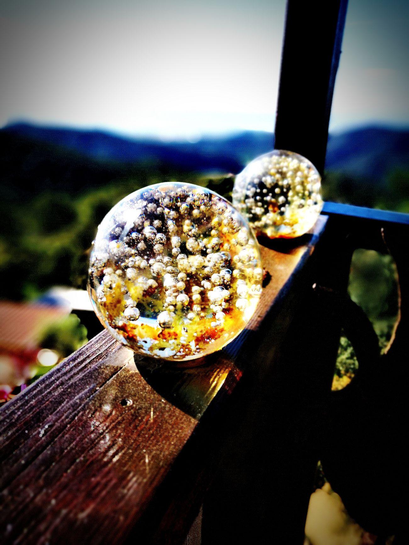 Bolas De Cristal Glass Objects  Glass Art Nature Decoracion Balcones Con Encanto