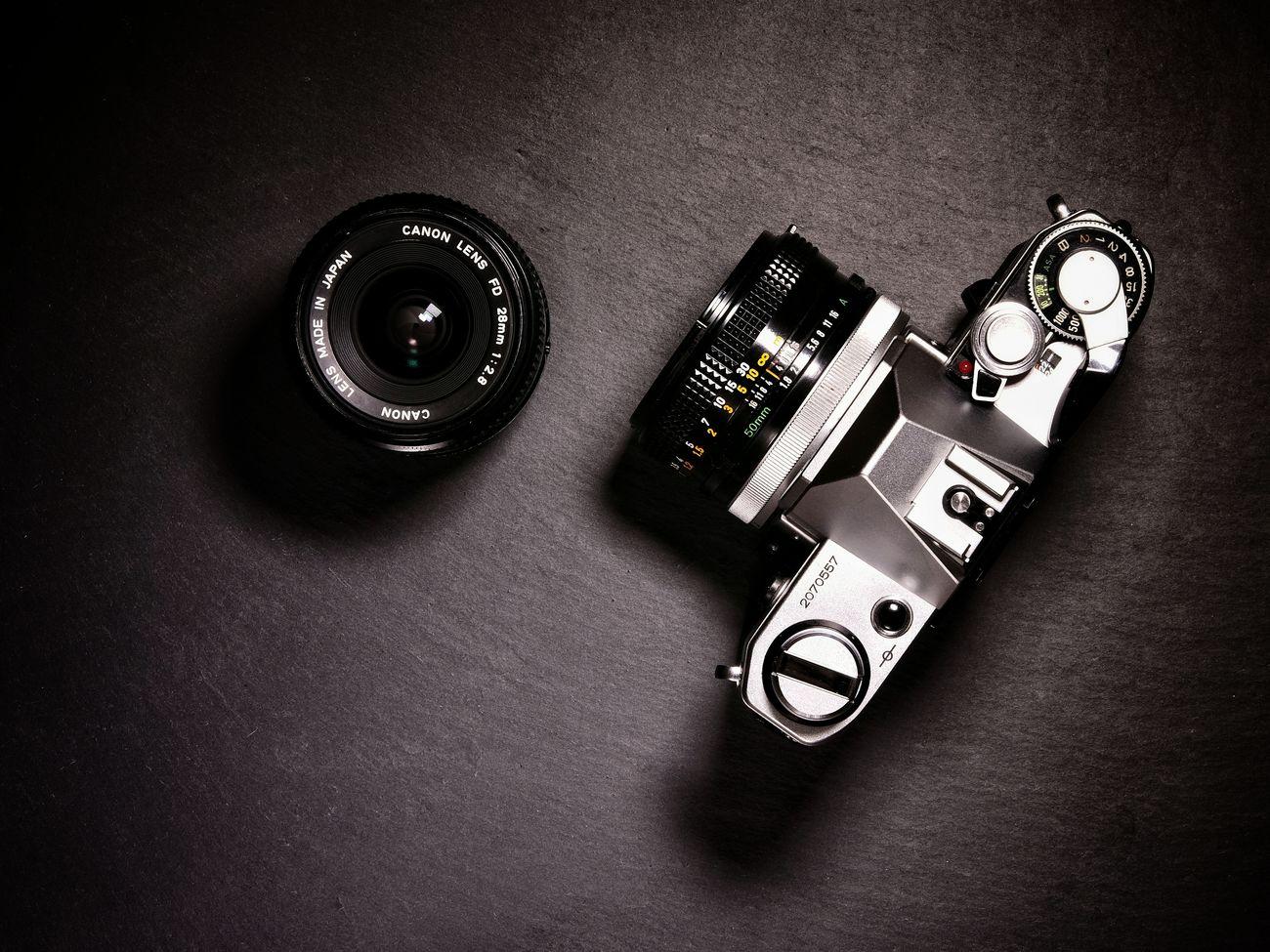 Indoors  No People High Angle View Close-up Analogue Photography Analog Camera Analog Canon Canonae1 Still Life Photograpy Productshoot Retro Camera Vintage❤