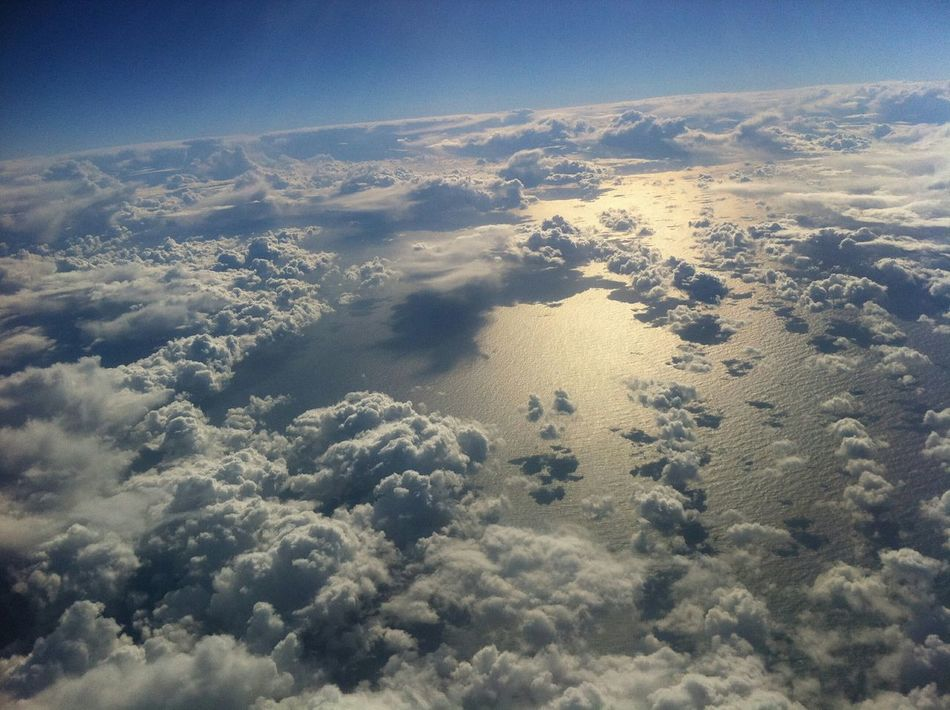 Scanaki Photography OpenEdit Travel Paysage Landscape Sky Sky And Clouds Sky And Sea The Great Outdoors - 2015 EyeEm Awards Looking Earth From Sky Traveling Ciel Et Mer Ciel Et Nuages Prendre De La Hauteur From Where I Stand Sunny Day