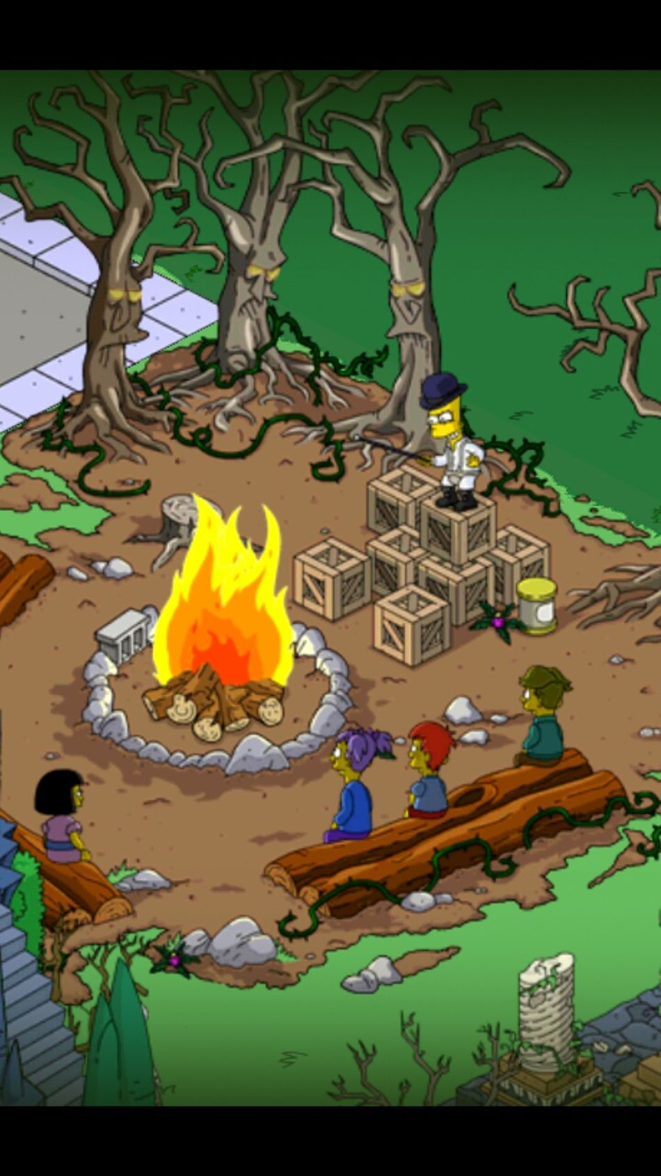 Simpsons TAPPED OUT Game