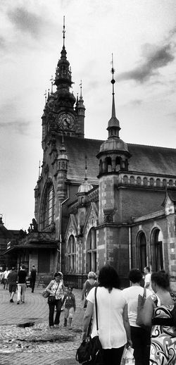 Gdansk Cityscapes Streetphoto_bw Architecture
