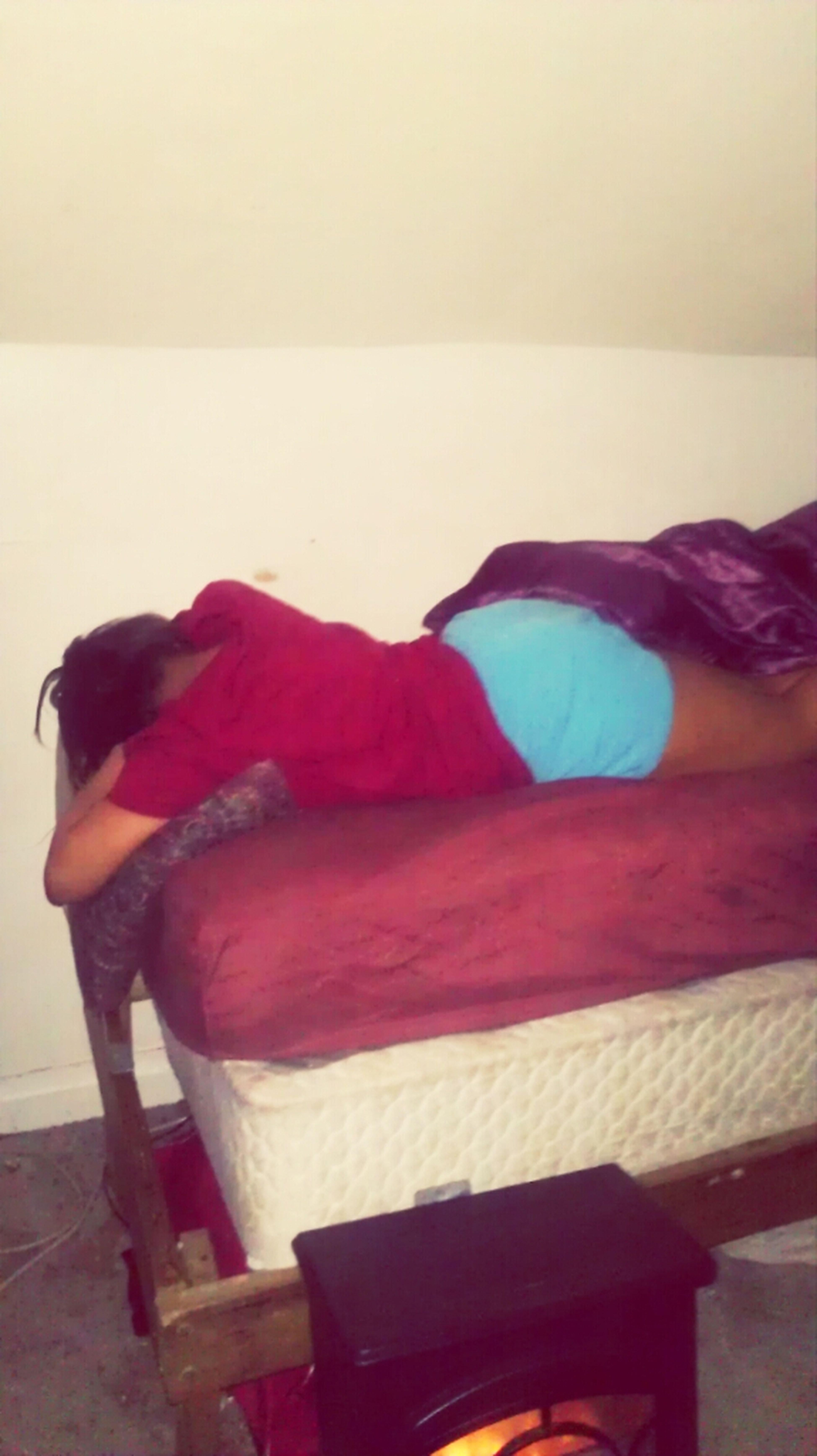 I Love His Bed It Be Comfortable