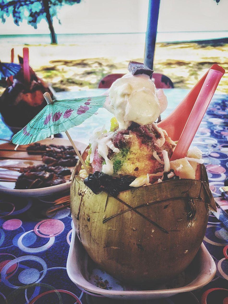 Ice Blended abc kelapa