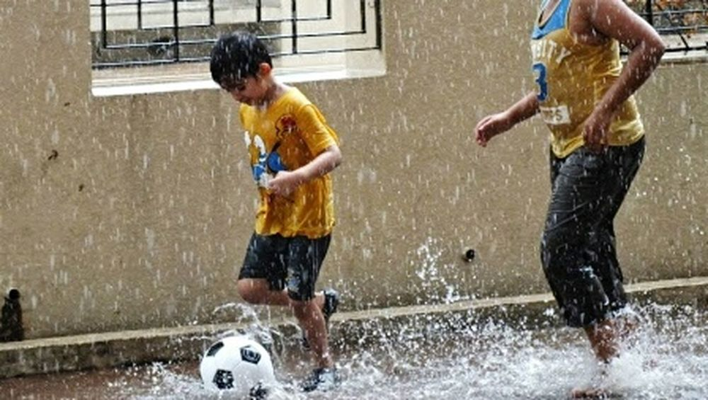 Rainy Days Playing In The Rain Playing In The Water Kids Being Kids Kids Having Fun