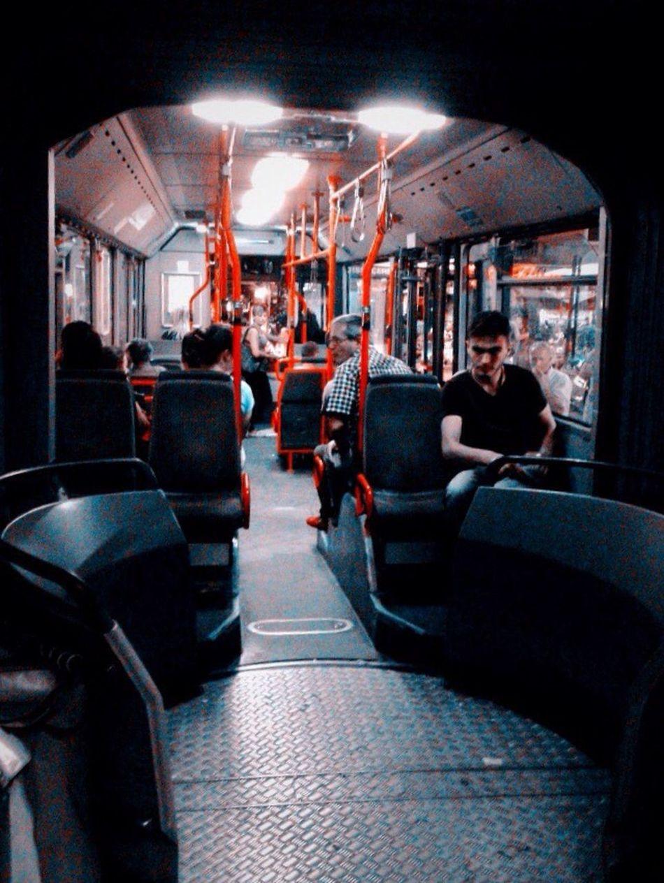 Urban Public Transportation People I ❤️ Tirana Tirana Nightphotography I ❤️ Albania Albania