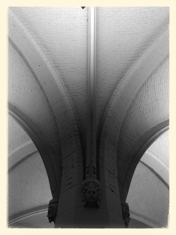 Architecture Taking Photos Black & White At An Exhibition