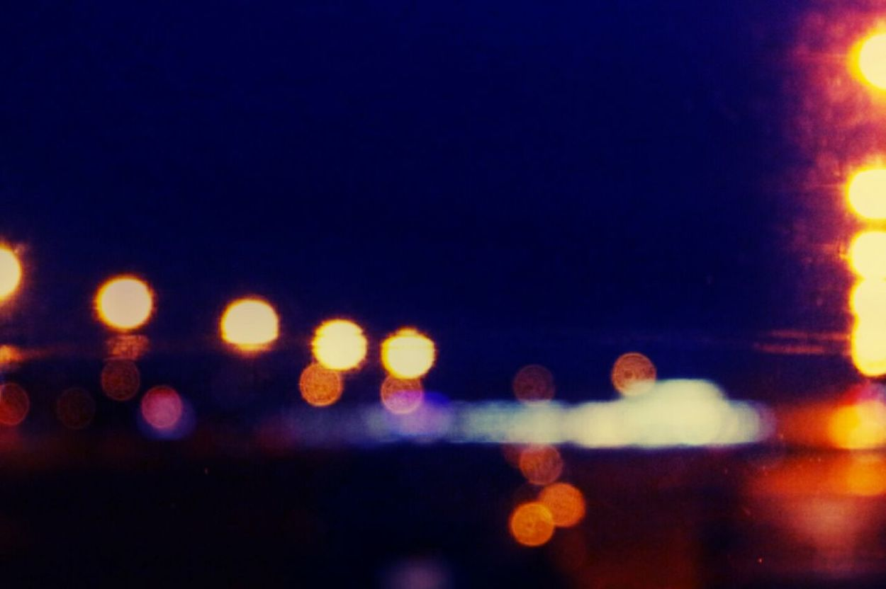 Lights lights everywhere lights Illuminated Night Defocused City Backgrounds Outdoors No People Cityscape