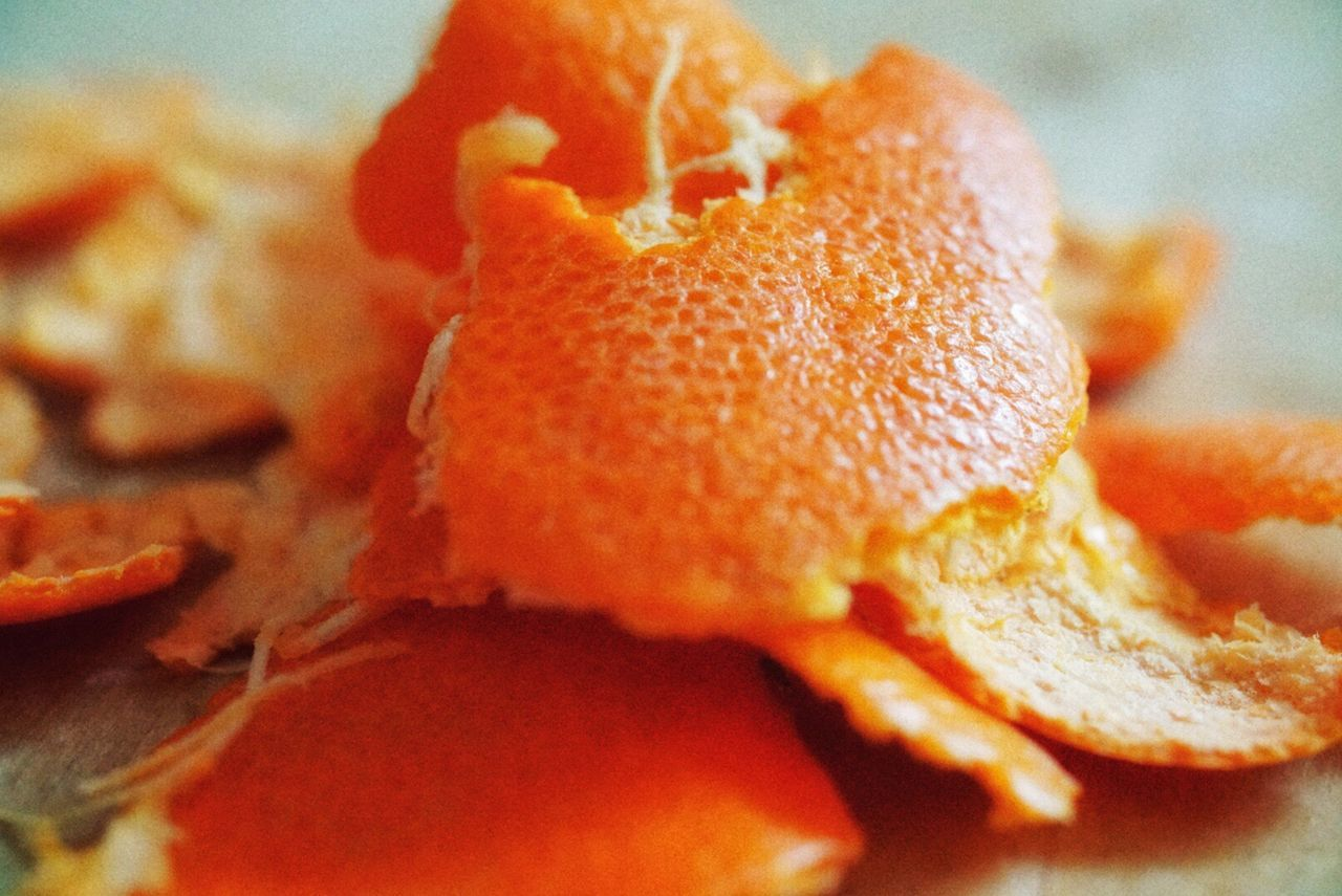 Skin Deep Orange Color Close-up Freshness Healthy Eating No People Minimal Textured  Objects Colors Peel Skin Tangerine