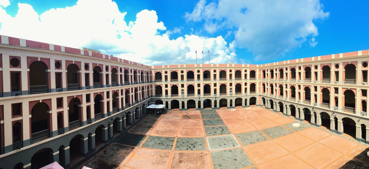 Beautiful stock photos of puerto rico, Ballajá Barracks, Barracks, Puerto Rico, San Juan